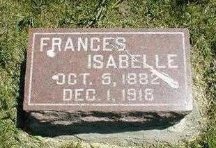 WILKINS, FRANCES ISABELLE - Boone County, Iowa | FRANCES ISABELLE WILKINS