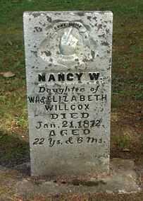 WILLCOX, NANCY W. - Boone County, Iowa | NANCY W. WILLCOX