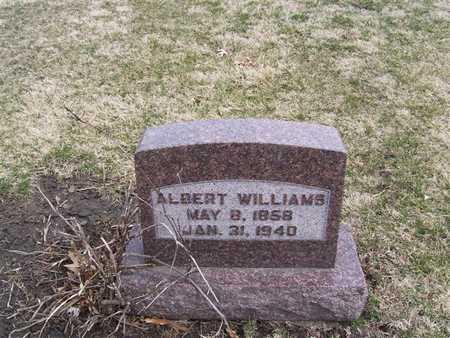 WILLIAMS, ALBERT - Boone County, Iowa | ALBERT WILLIAMS