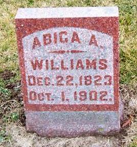 WILLIAMS, ABICA A. - Boone County, Iowa | ABICA A. WILLIAMS
