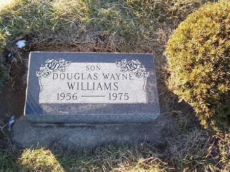 WILLIAMS, DOUGLAS WAYNE - Boone County, Iowa   DOUGLAS WAYNE WILLIAMS