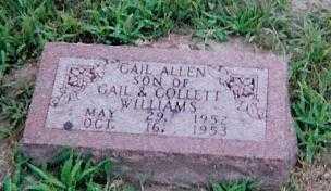 WILLIAMS, GAIL ALLEN - Boone County, Iowa | GAIL ALLEN WILLIAMS