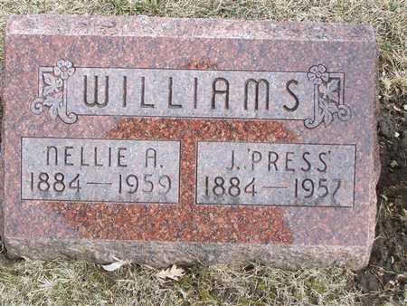 WILLIAMS, NELLIE A. - Boone County, Iowa | NELLIE A. WILLIAMS