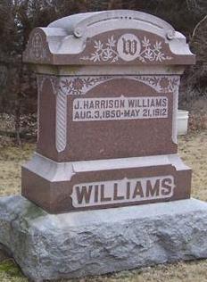 WILLIAMS, J. HARRISON - Boone County, Iowa | J. HARRISON WILLIAMS