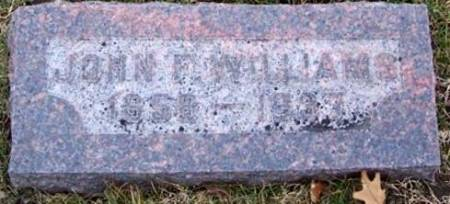 WILLIAMS, JOHN F. - Boone County, Iowa   JOHN F. WILLIAMS
