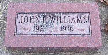 WILLIAMS, JOHN R. - Boone County, Iowa | JOHN R. WILLIAMS