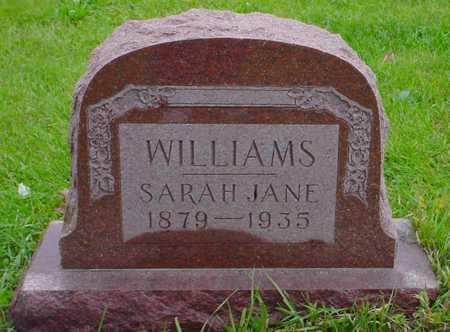 WILLIAMS, SARAH JANE - Boone County, Iowa | SARAH JANE WILLIAMS