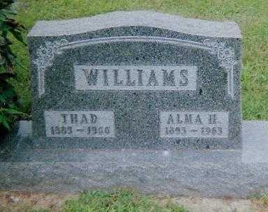 WILLIAMS, THAD - Boone County, Iowa | THAD WILLIAMS