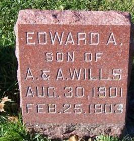 WILLS, EDWARD A. - Boone County, Iowa | EDWARD A. WILLS