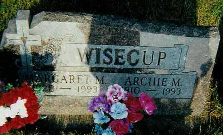 WISECUP, MARGARET M. - Boone County, Iowa   MARGARET M. WISECUP