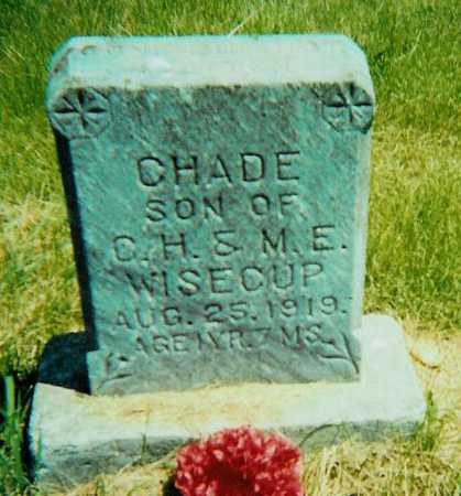 WISECUP, CHADE - Boone County, Iowa | CHADE WISECUP