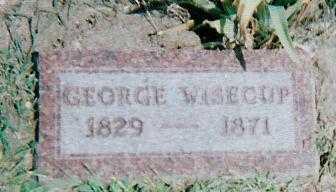 WISECUP, GEORGE - Boone County, Iowa | GEORGE WISECUP