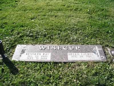 WISECUP, KENNETH - Boone County, Iowa | KENNETH WISECUP