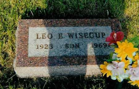 WISECUP, LEO E. - Boone County, Iowa | LEO E. WISECUP
