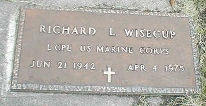 WISECUP, RICHARD L. - Boone County, Iowa | RICHARD L. WISECUP