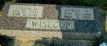 WISECUP, VALDA M. - Boone County, Iowa | VALDA M. WISECUP