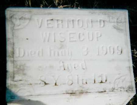 WISECUP, VERNON D. - Boone County, Iowa | VERNON D. WISECUP