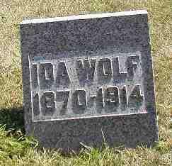WOLF, IDA - Boone County, Iowa | IDA WOLF