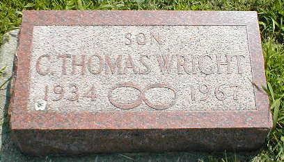 WRIGHT, C.THOMAS - Boone County, Iowa | C.THOMAS WRIGHT