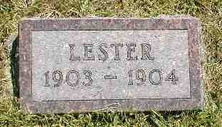 YARGES, LESTER - Boone County, Iowa | LESTER YARGES