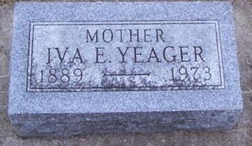 YEAGER, IVA E. - Boone County, Iowa | IVA E. YEAGER