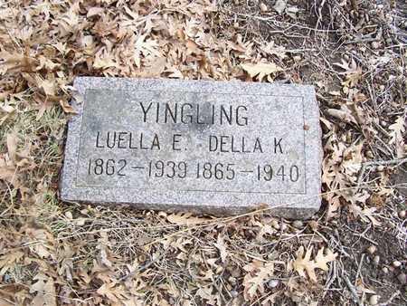YINGLING, DELLA K. - Boone County, Iowa | DELLA K. YINGLING