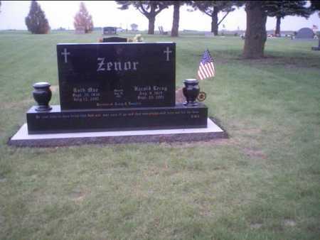 TURNER ZENOR, RUTH - Boone County, Iowa | RUTH TURNER ZENOR