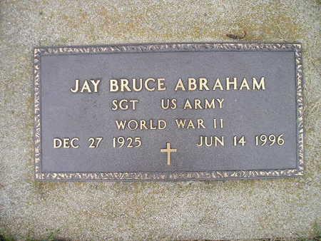 ABRAHAM, JAY BRUCE - Bremer County, Iowa | JAY BRUCE ABRAHAM
