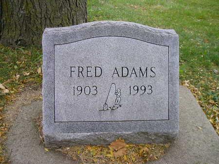 ADAMS, FRED - Bremer County, Iowa | FRED ADAMS