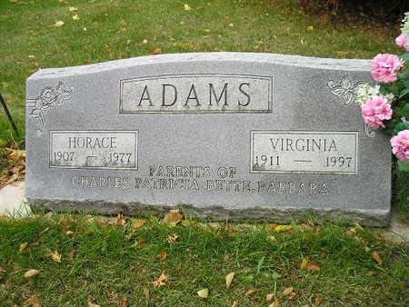 ADAMS, VIRGINIA - Bremer County, Iowa | VIRGINIA ADAMS