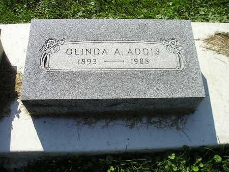 ADDIS, OLINDA A - Bremer County, Iowa | OLINDA A ADDIS
