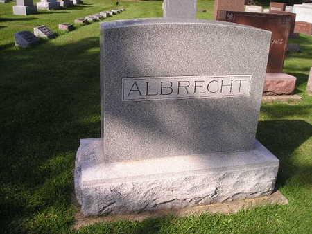 ALBRECHT, LOUISA S, FRED H, C JOHN, CARMA - Bremer County, Iowa | LOUISA S, FRED H, C JOHN, CARMA ALBRECHT