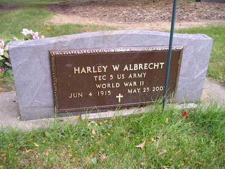 ALBRECHT, HARLEY W - Bremer County, Iowa | HARLEY W ALBRECHT