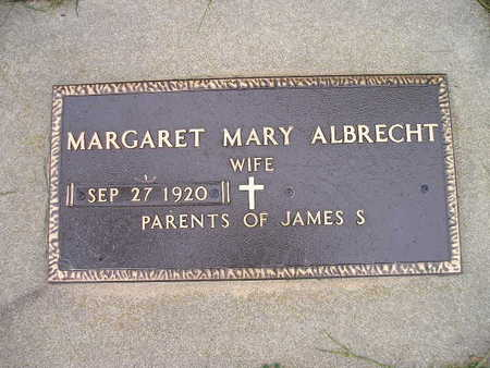 ALBRECHT, MARGARET MARY - Bremer County, Iowa | MARGARET MARY ALBRECHT