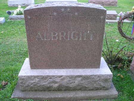 ALBRIGHT, DORA, AUGUST, EDWARD - Bremer County, Iowa | DORA, AUGUST, EDWARD ALBRIGHT
