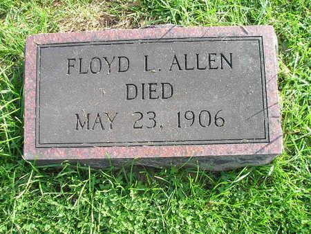 ALLEN, FLOYD L - Bremer County, Iowa   FLOYD L ALLEN