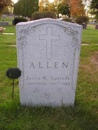 ALLEN, LUCINDA - Bremer County, Iowa | LUCINDA ALLEN