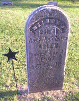 ALLEN, NELSON J. - Bremer County, Iowa   NELSON J. ALLEN