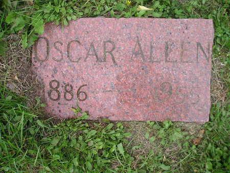 ALLEN, OSCAR - Bremer County, Iowa   OSCAR ALLEN
