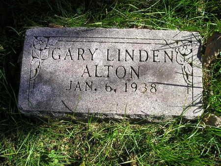 ALTON, GARY LINDEN - Bremer County, Iowa   GARY LINDEN ALTON