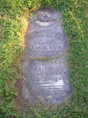 AMES JR, J THOMAS - Bremer County, Iowa | J THOMAS AMES JR
