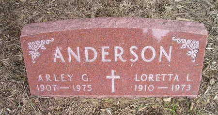 ANDERSON, ARLEY G - Bremer County, Iowa | ARLEY G ANDERSON