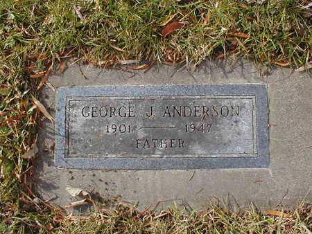 ANDERSON, GEORGE J - Bremer County, Iowa | GEORGE J ANDERSON