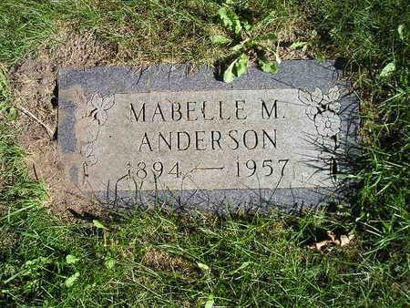ANDERSON, MABELLE M - Bremer County, Iowa | MABELLE M ANDERSON