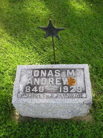 ANDREWS, JONAS M - Bremer County, Iowa | JONAS M ANDREWS