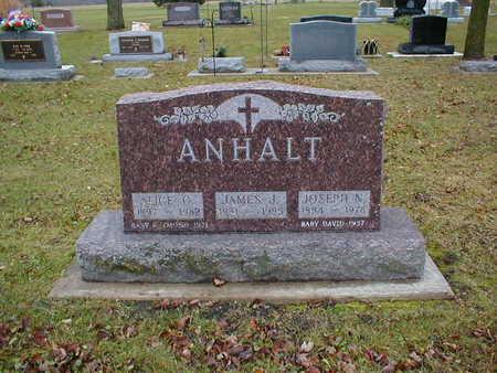 ANHALT, ALICE G - Bremer County, Iowa | ALICE G ANHALT