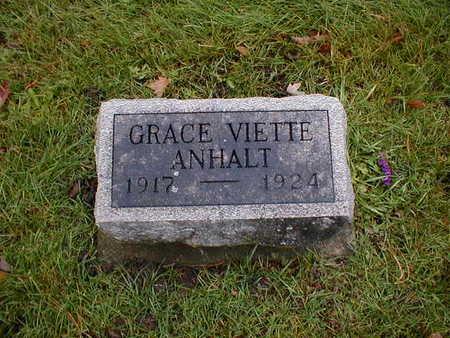 ANHALT, GRACE VIETTE - Bremer County, Iowa | GRACE VIETTE ANHALT