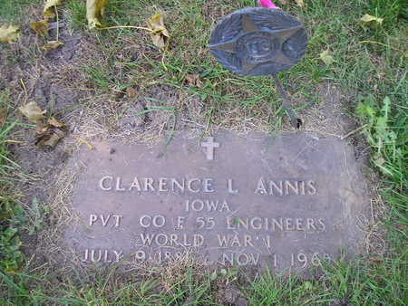 ANNIS, CLARENCE L - Bremer County, Iowa | CLARENCE L ANNIS