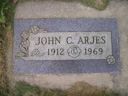 ARJES, JOHN C - Bremer County, Iowa | JOHN C ARJES