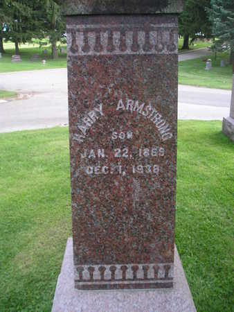 ARMSTRONG, HARRY - Bremer County, Iowa | HARRY ARMSTRONG